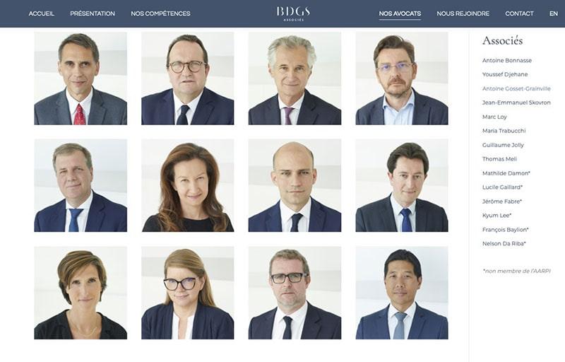 Cabinet avocats BDGS