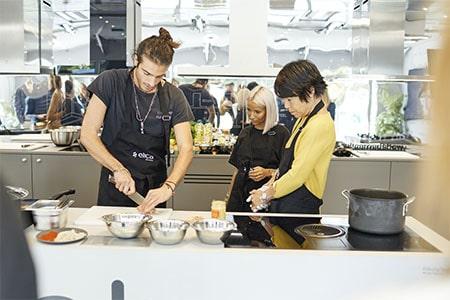 Chef Julien Sebbag et Noholita