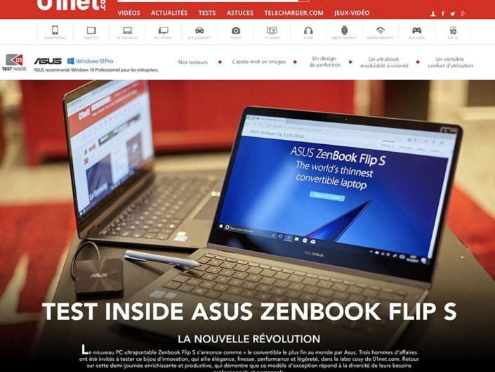 Reportage site internet